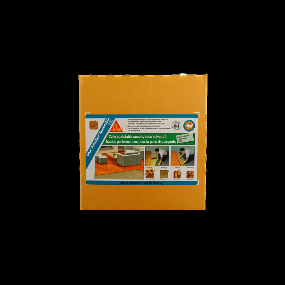 Colle Spatulable Adheflex Sika I-Eco - sans émanation de COV carton de 6kg