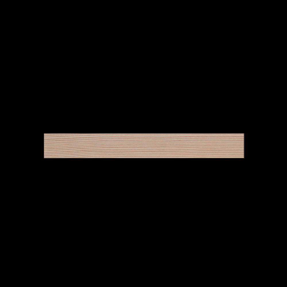 Profil Plinthe Douglas Massif Bord Droit Brut - Fsc 18x40