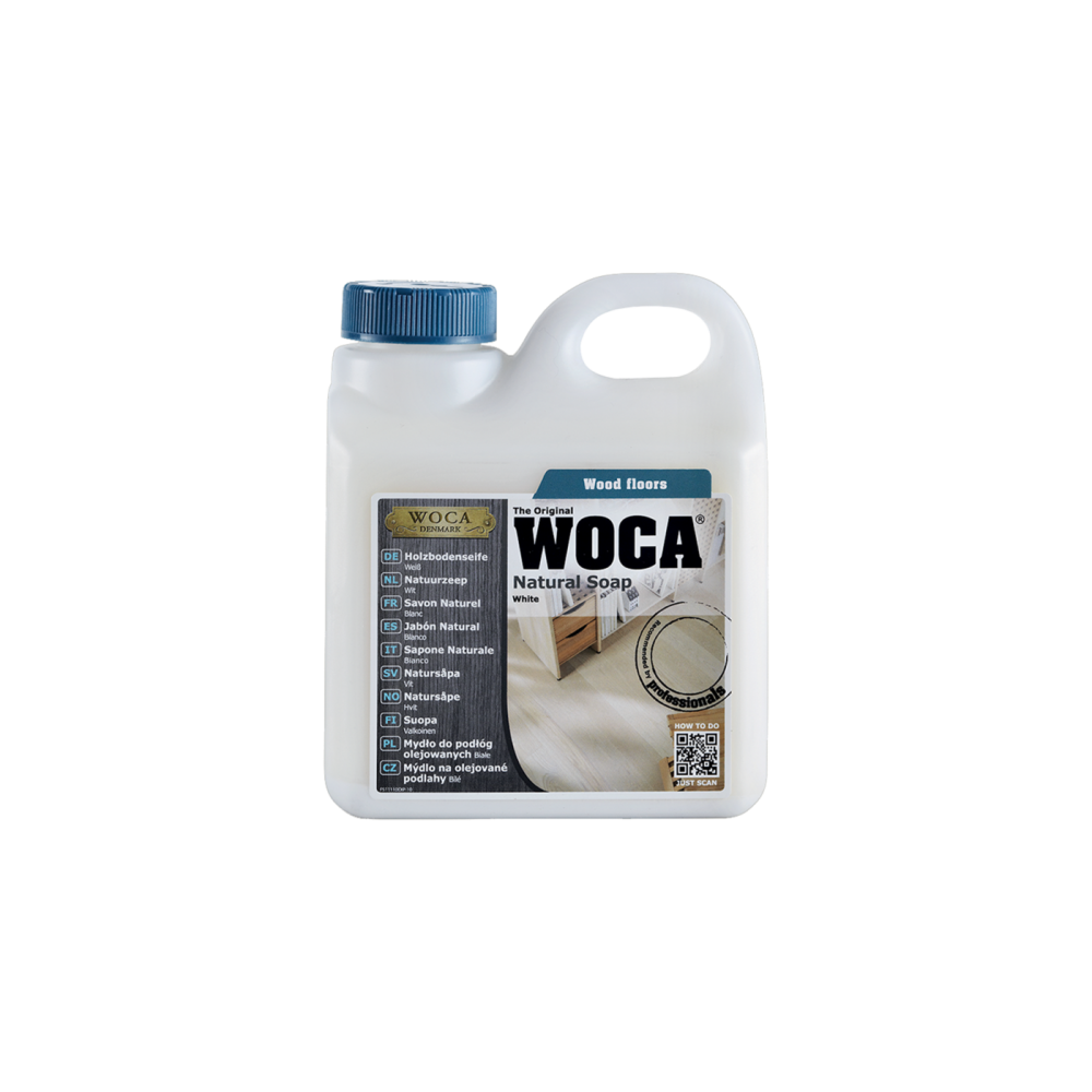 Savon d'entretien Blanc pour Douglas Woca