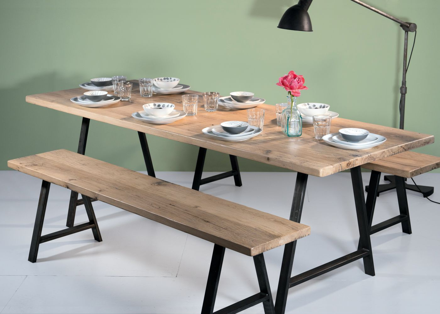table en bois sur mesure xh98 jornalagora. Black Bedroom Furniture Sets. Home Design Ideas