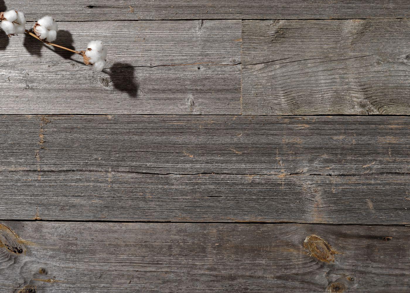Bardage bois européen chant anciens campagne vieilli Gris Select brut - fsc 15-30x100-300x2000-4000