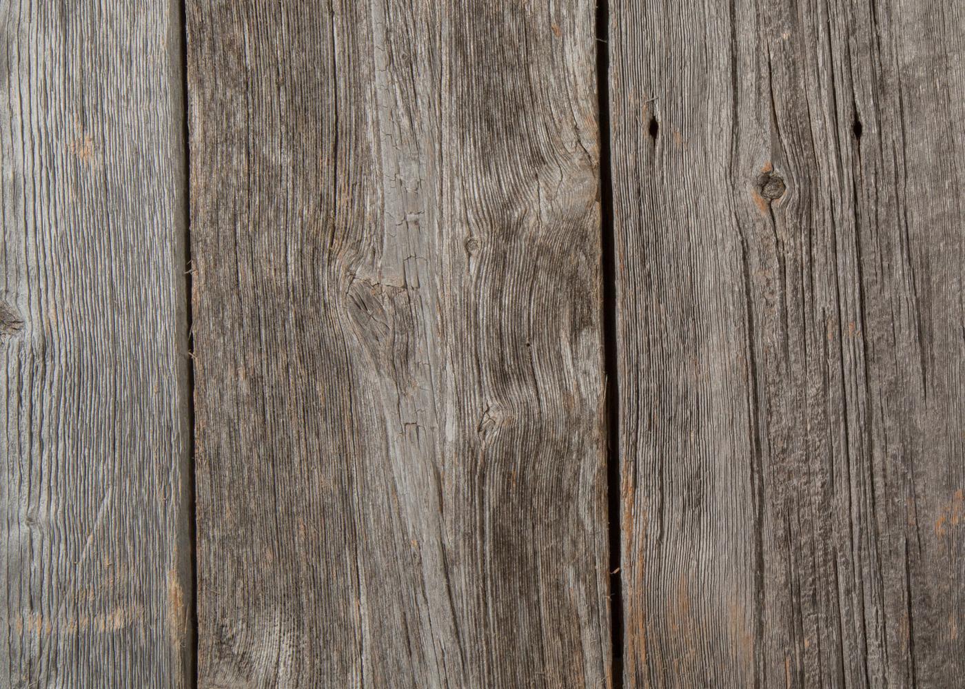 Bardage monolame bois us déligné raboté campagne vieilli gris select brut - fsc , longueurs de 4,2 à 4,7m
