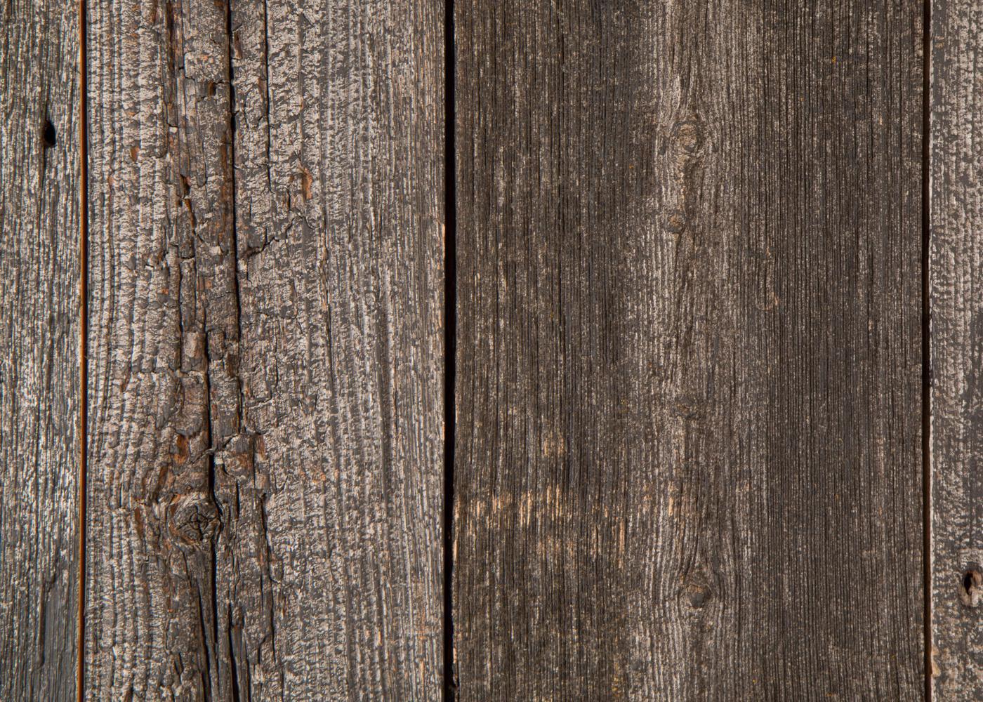 Bardage Monolame Bois Us Déligné Raboté Campagne Vieilli Peinture D'Origine Noir Léger - Fsc 30x300x4500