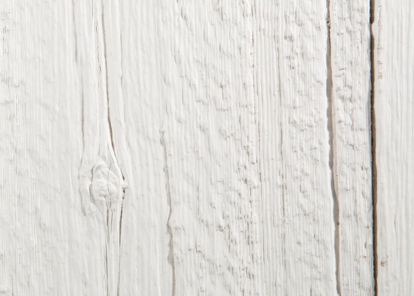 Bardage Bois Us Déligné Raboté Campagne Vieilli Peinture d'Aujourd'hui Blanc Dense