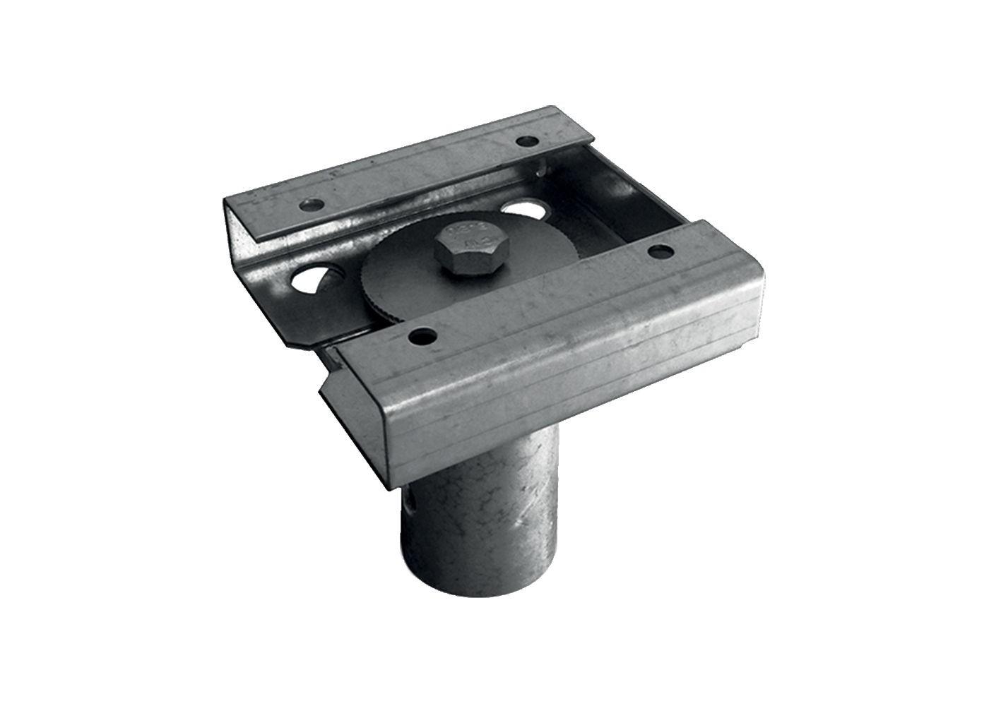 Connecteur en acier galvanise pour structuré bois poteau 140x140