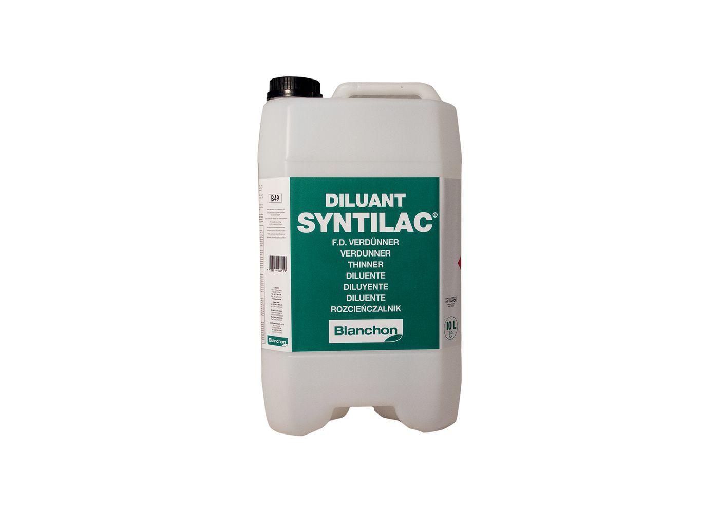 Syntilac - Entretien des outils diluant polyuréthane 1L