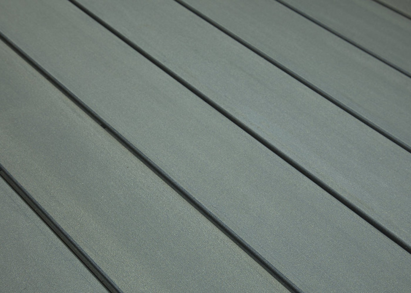 Terrasse composite Elégance fixation invisible Gris Anthracite rainuré 23x138x4000
