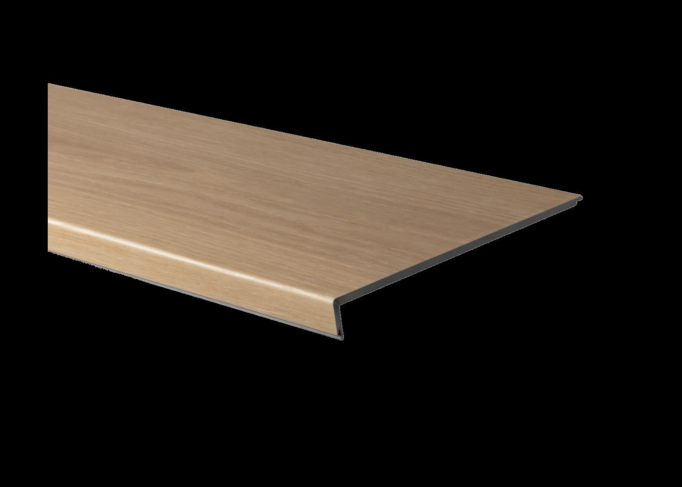 Profil d'escalier en Z HDF hydrofuge pour sol vinyl rigide