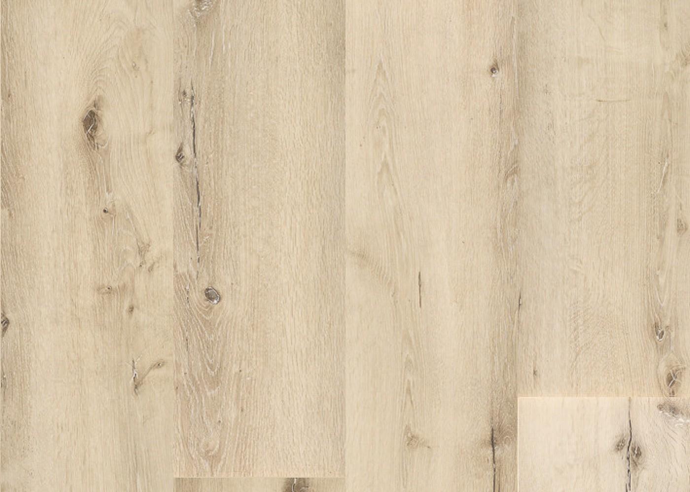 Vinyle rigide Chêne Alpaca passage commercial 4.5x225x1524