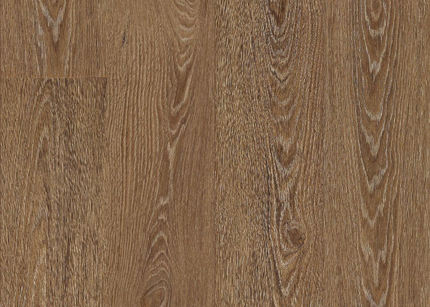 Vinyle rigide Chêne Brunette passage commercial 4.5x225x1524