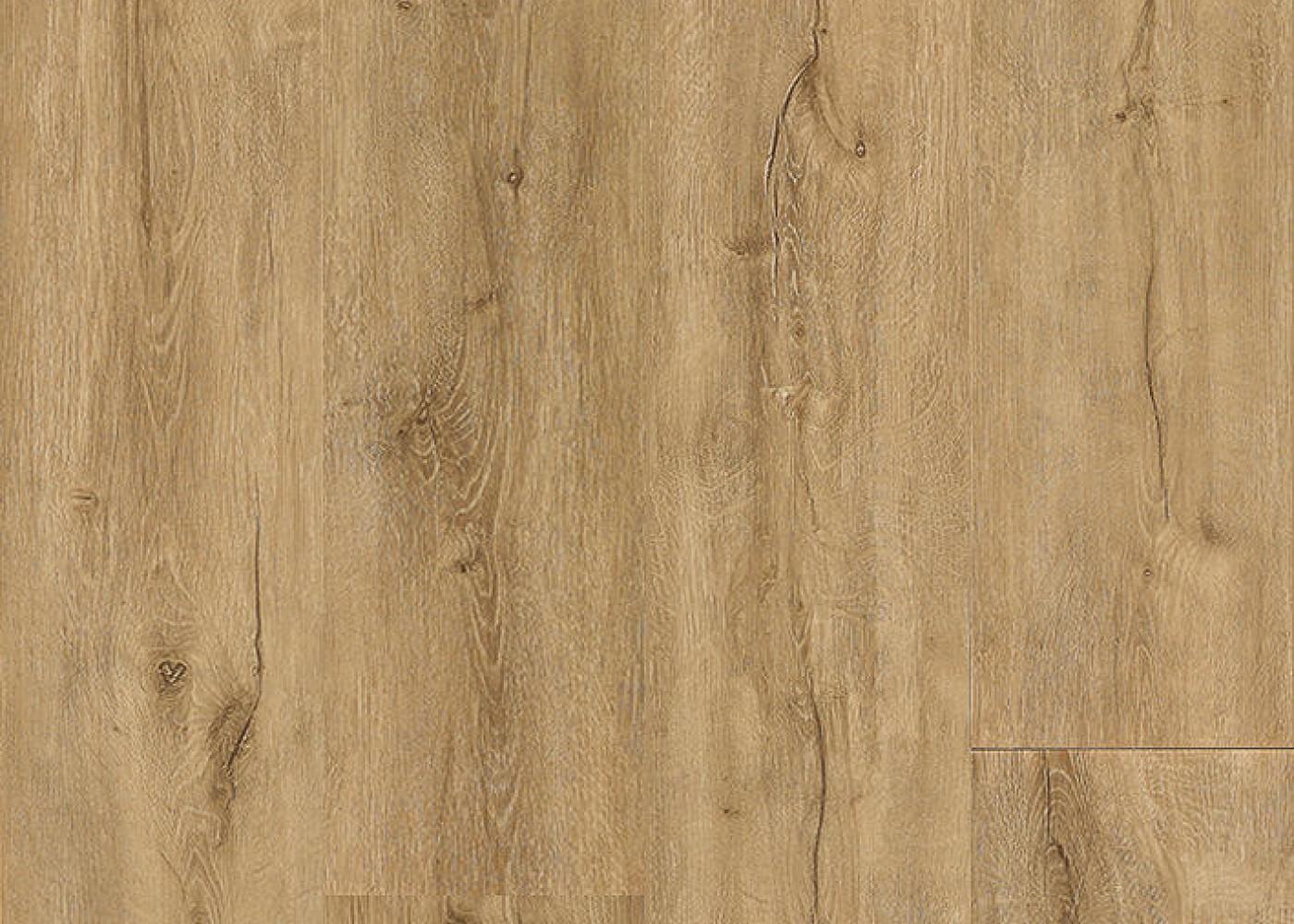Vinyle rigide Chêne Granola passage commercial 4.5x225x1524