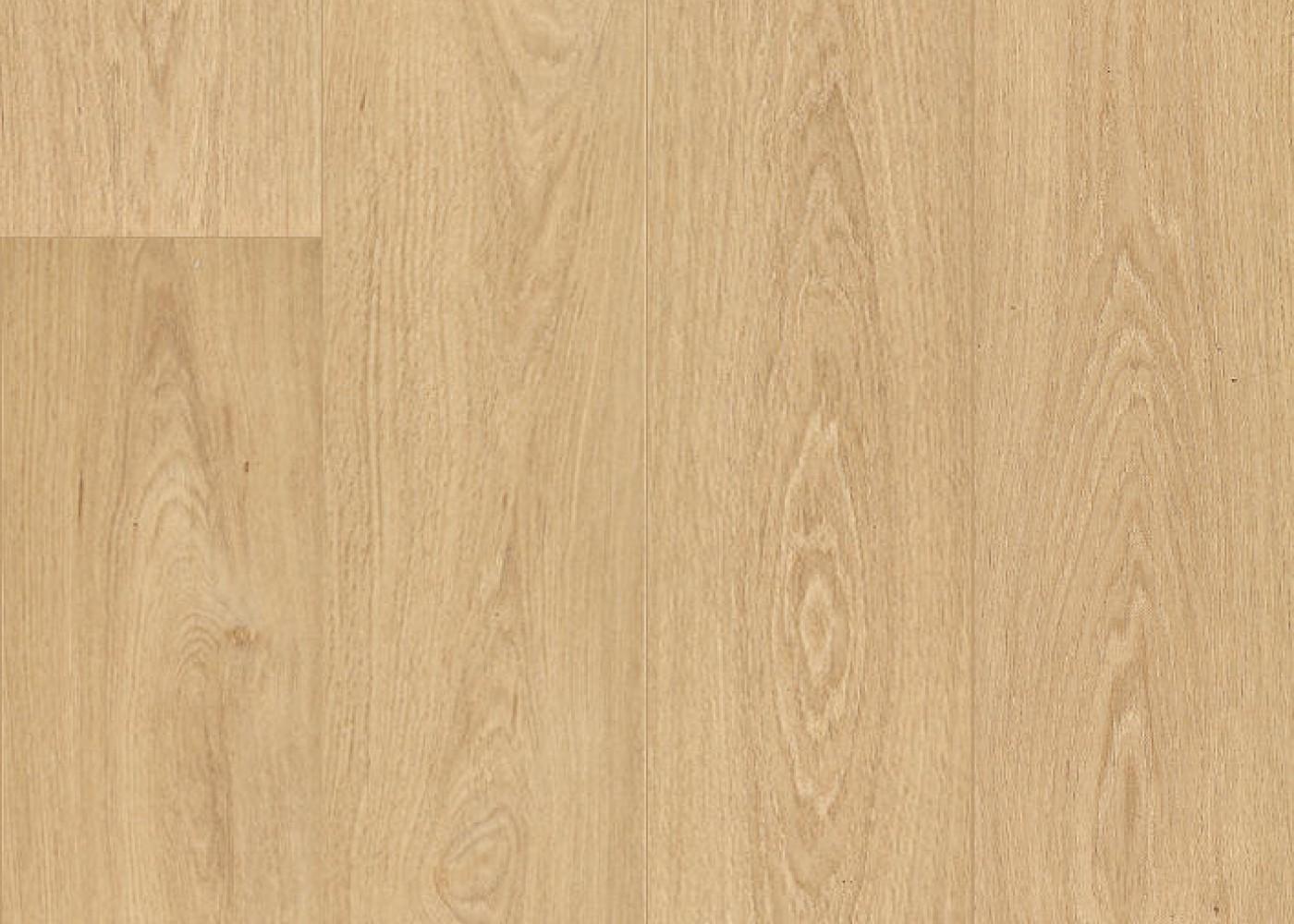 Vinyle rigide Chêne Tinte Parisienne passage commercial 4.5x225x1524