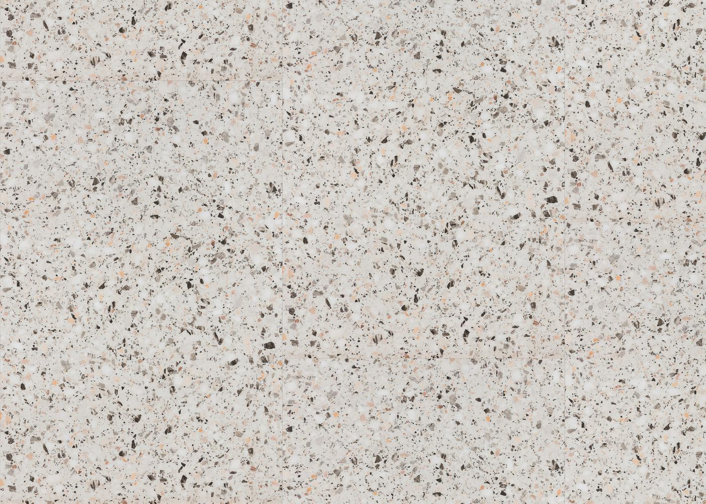 Vinyle rigide Terrazzo passage commercial 4.5x600x900