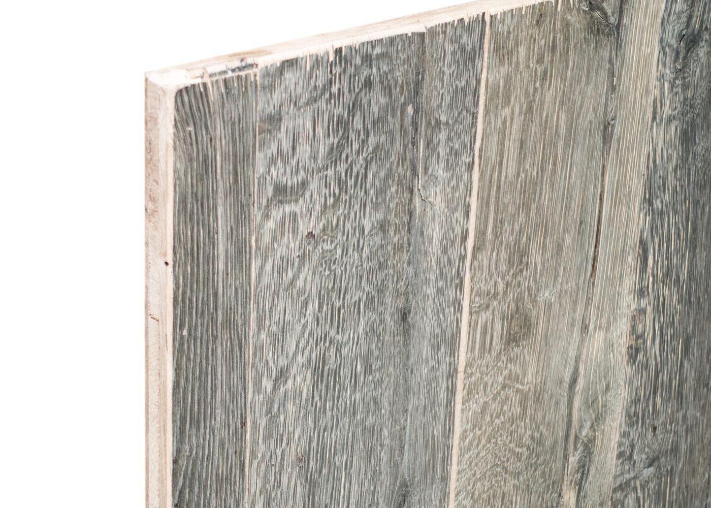 panneau 3 plis bois us campagne vieilli gris brut 2 faces plaquees fsc la parqueterie nouvelle. Black Bedroom Furniture Sets. Home Design Ideas