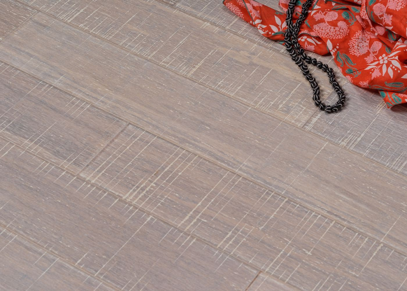 Parquet bambou contrecollé Café densifié vernis blanc 10x125x920