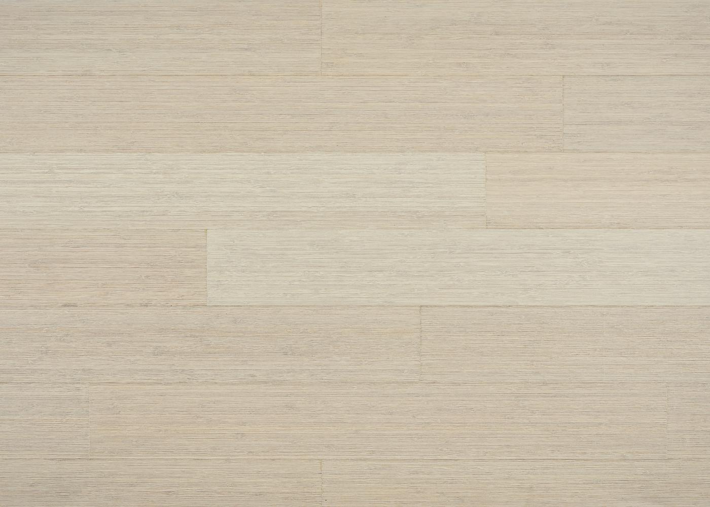 Parquet bambou contrecollé Café vertical brossé vernis blanc 10x128x960
