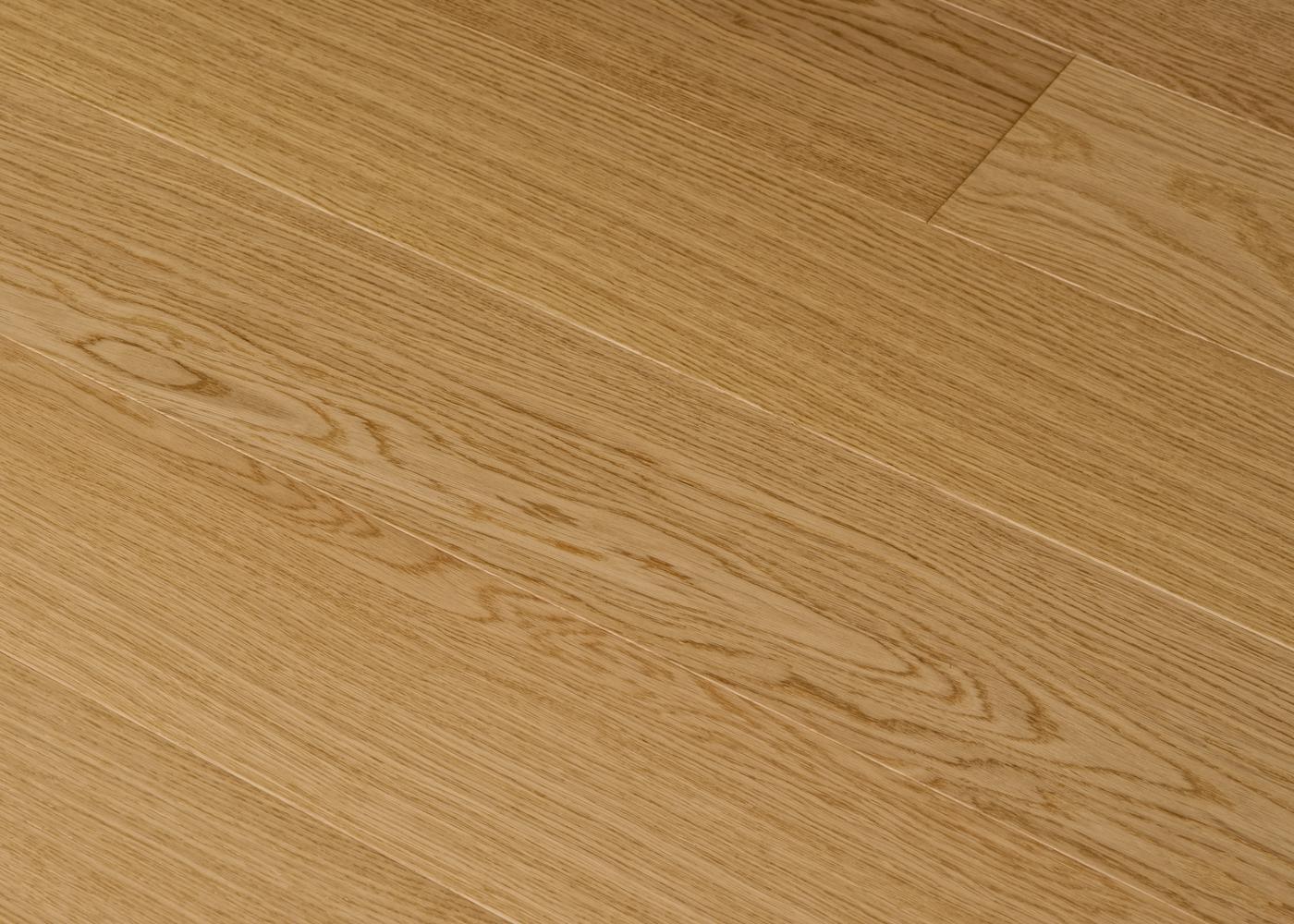Parquet chêne contrecollé LIVOURNE brossé huile UV Select support HDF 10x92x1420