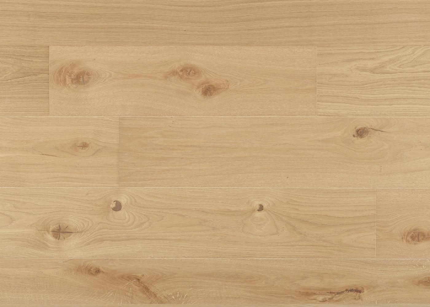 Parquet chêne contrecollé TALLINN brossé huile UV Matière Click Unifit-X support HDF 10x148x1185