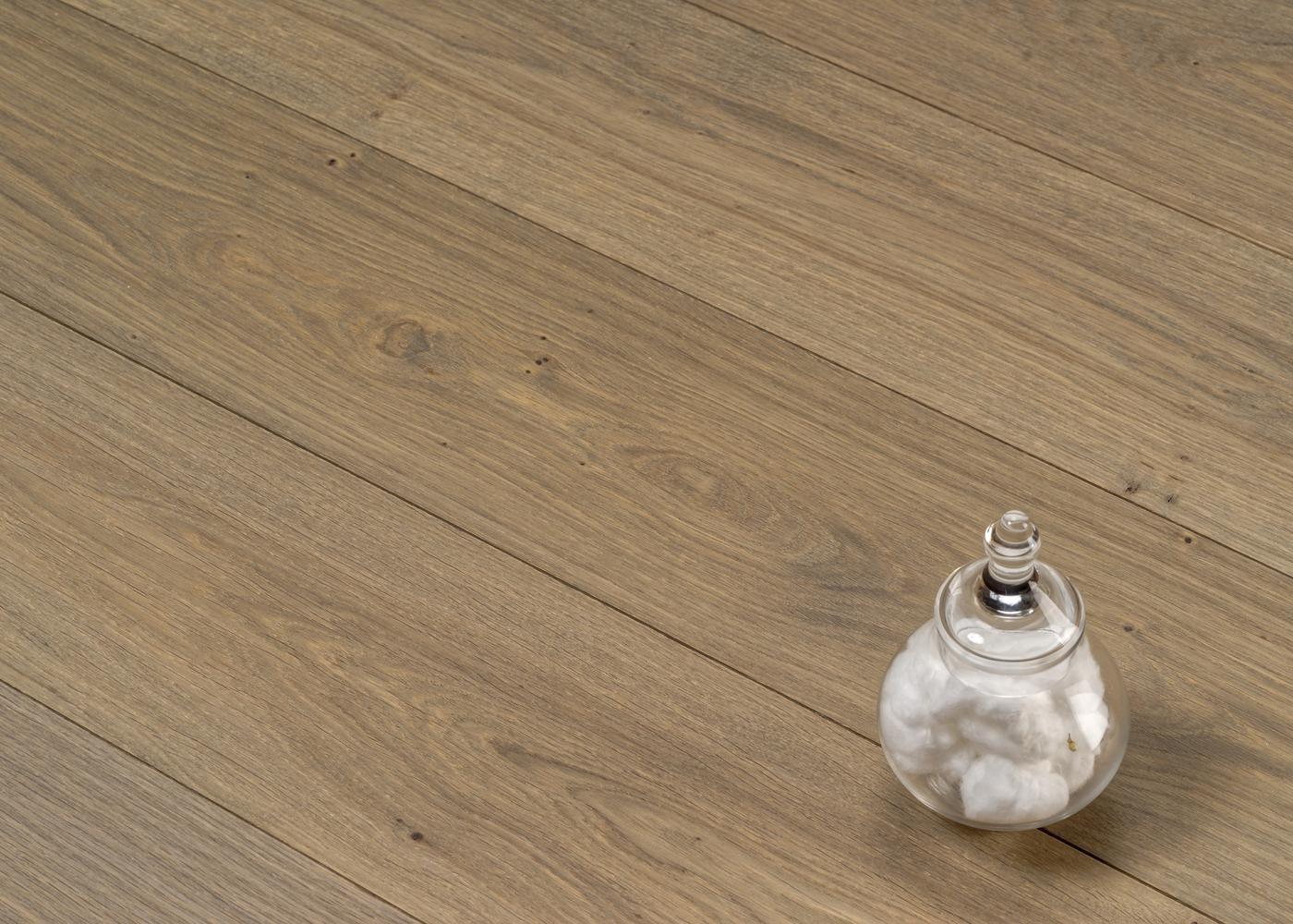 Parquet chêne contrecollé GRAVIER huile cire Elégance 14x148x2200