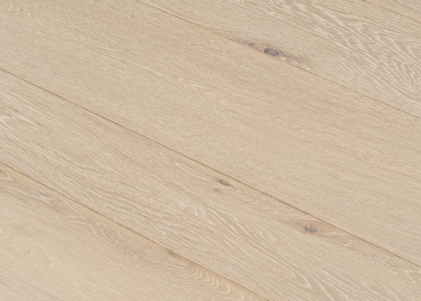 Parquet chêne contrecollé CALCAIRE huile cire Elégance 14x148x2200