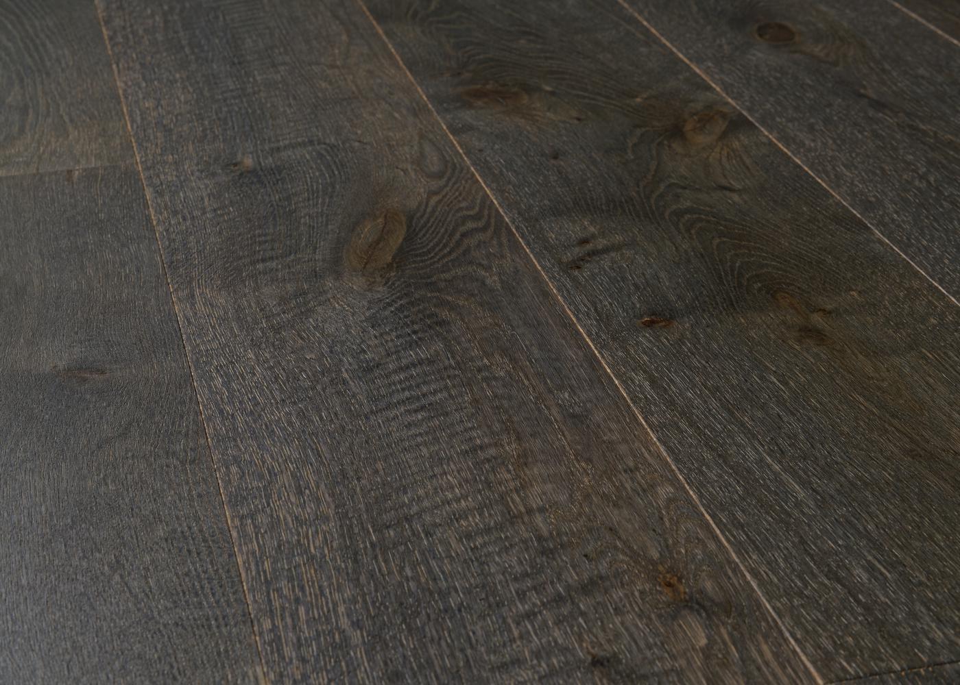 Parquet chêne contrecollé SÈVRES brossé huile UV Matière support HDF 10x122x1190