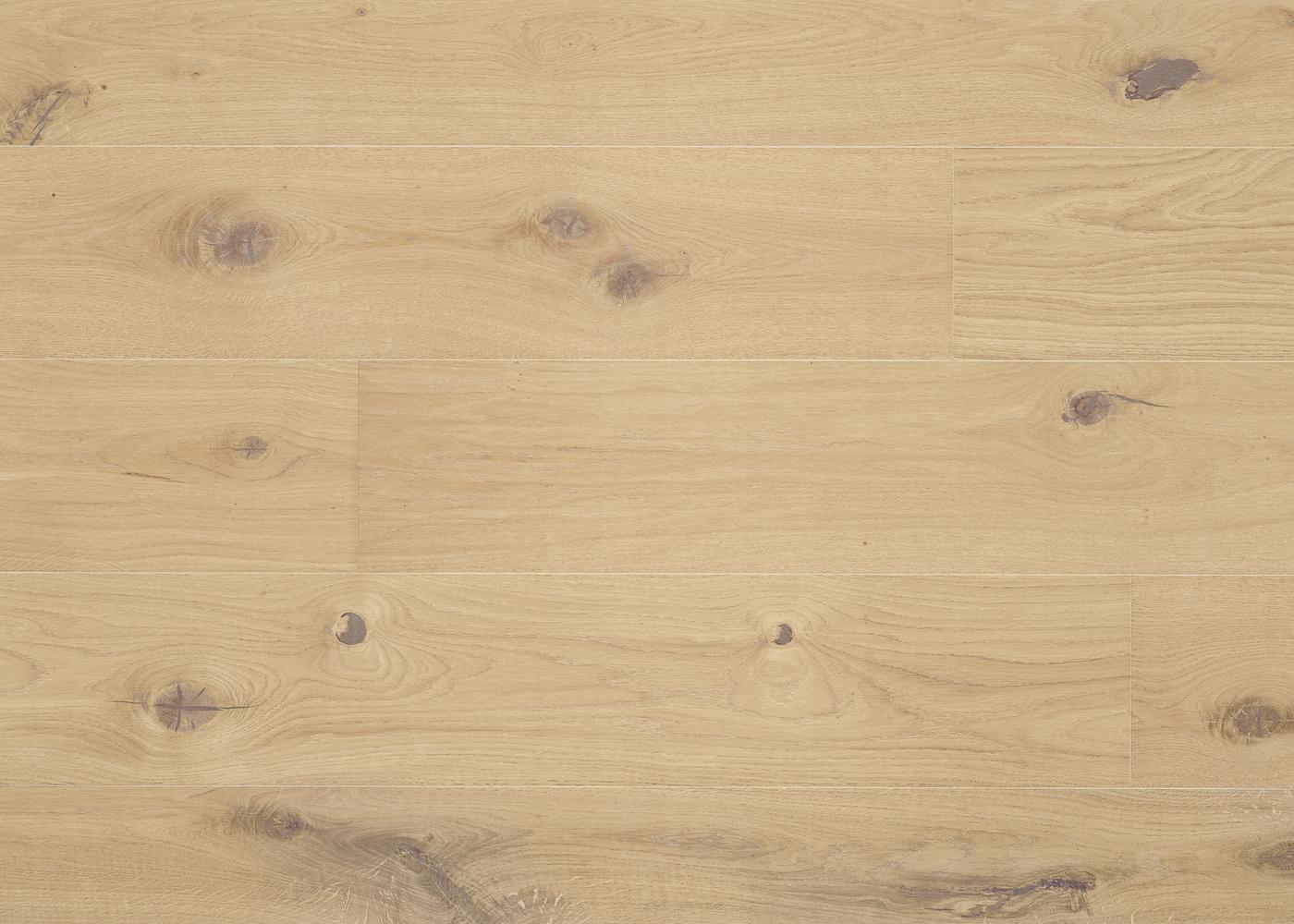 Parquet chêne contrecollé LECCE brossé vernis mat Matière Click Unifit-X support HDF 10x148x1185