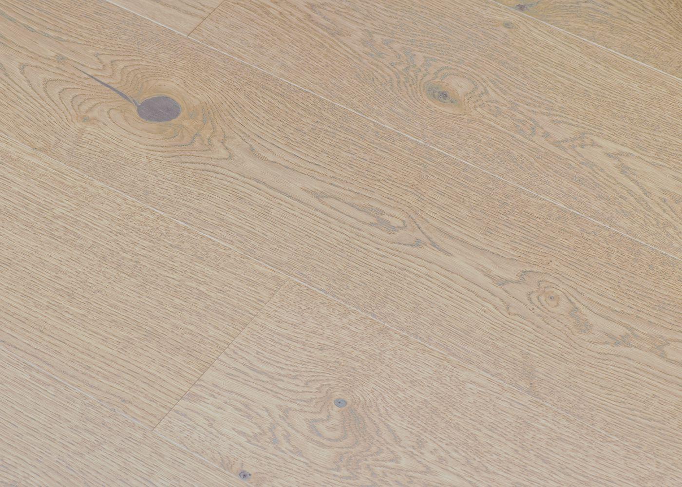 Parquet chêne contrecollé LUCERA brossé vernis mat Matière Click Unifit-X support HDF 10x148x1185