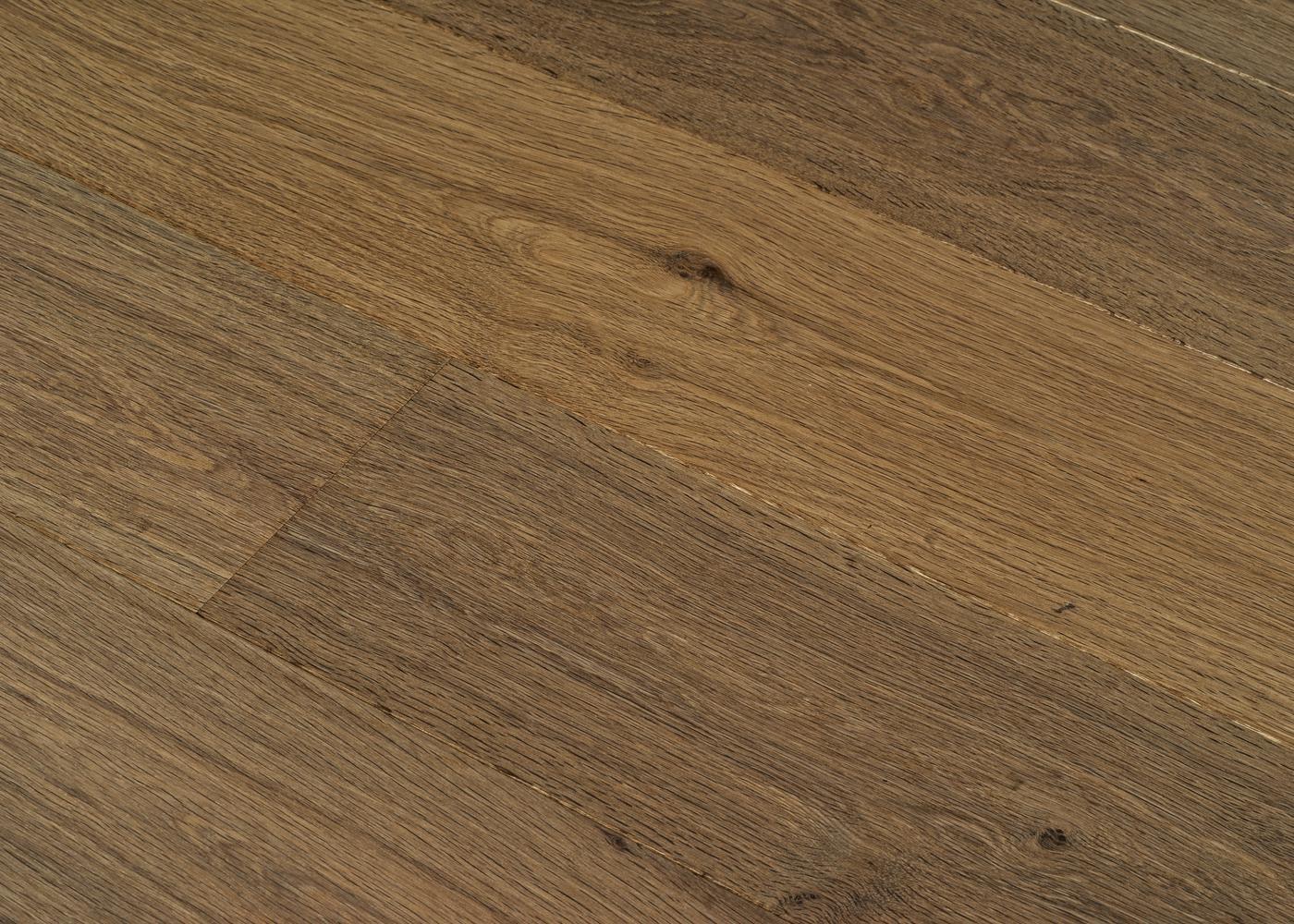 Parquet chêne contrecollé BASALTE huile cire Mélange 50% PRBis, 50% Matière 12x160x1100-2200