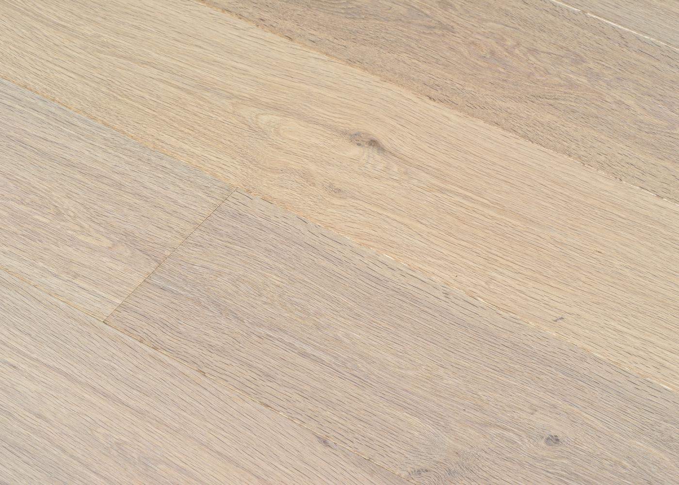 Parquet chêne contrecollé CALCAIRE huile cire Mélange 50% PRBis, 50% Matière 12x160x1100-2200