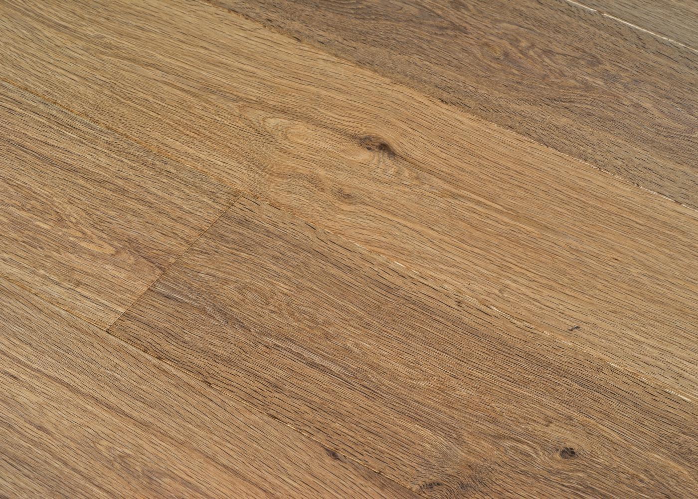 Parquet chêne contrecollé FLAME huile cire Mélange 50% PRBis, 50% Matière 12x160x1100-2200