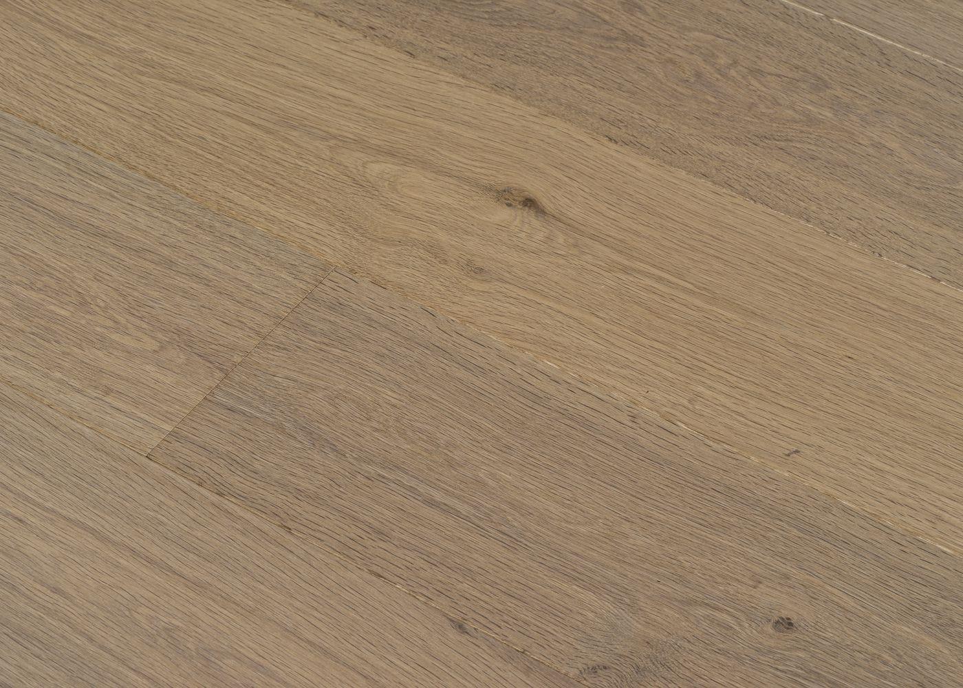 Parquet chêne contrecollé TAUPE huile cire Mélange 50% PRBis, 50% Matière 12x160x1100-2200