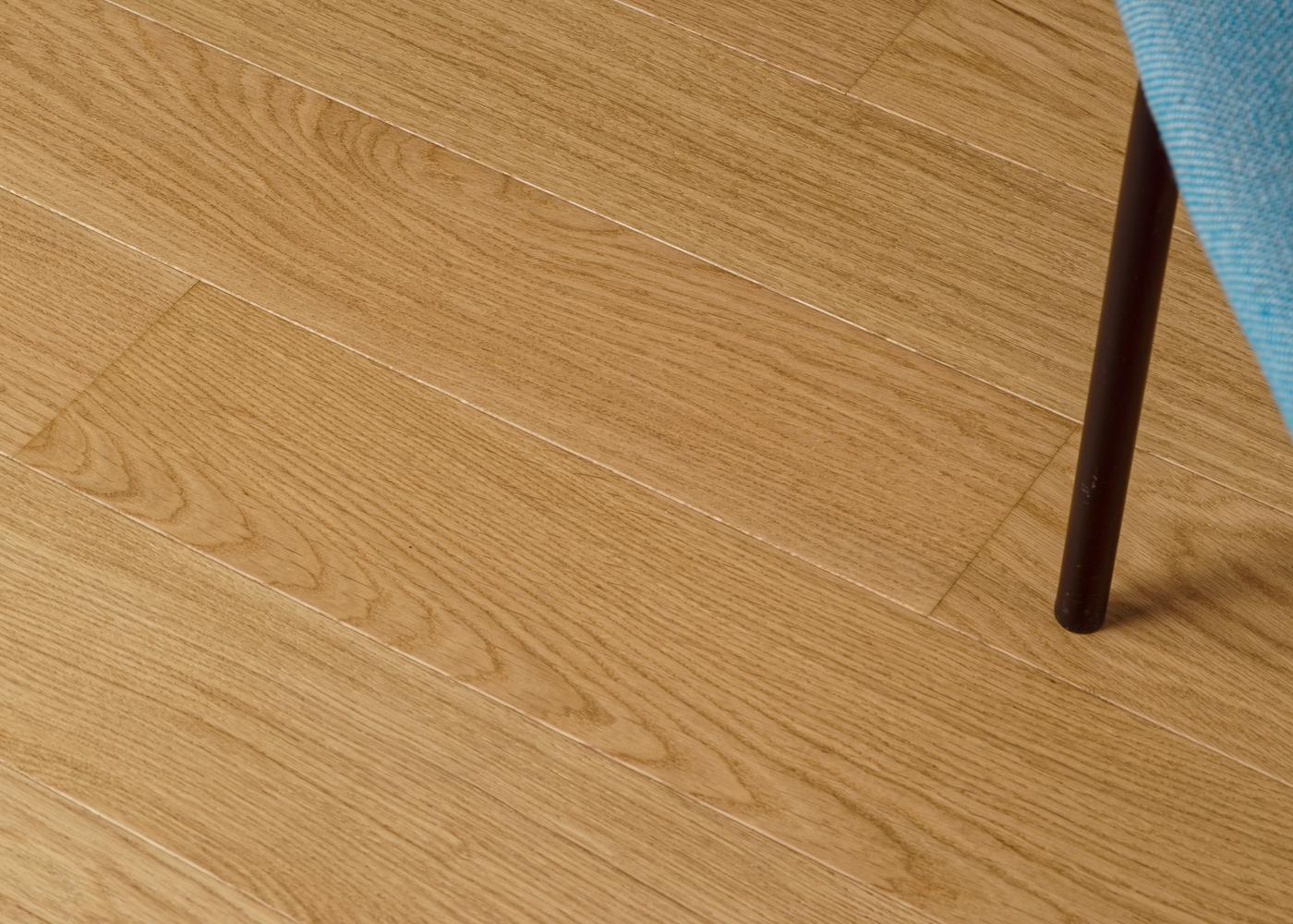 Parquet chêne contrecollé RASPAIL brossé vernis mat PRBIS 14x139x1700