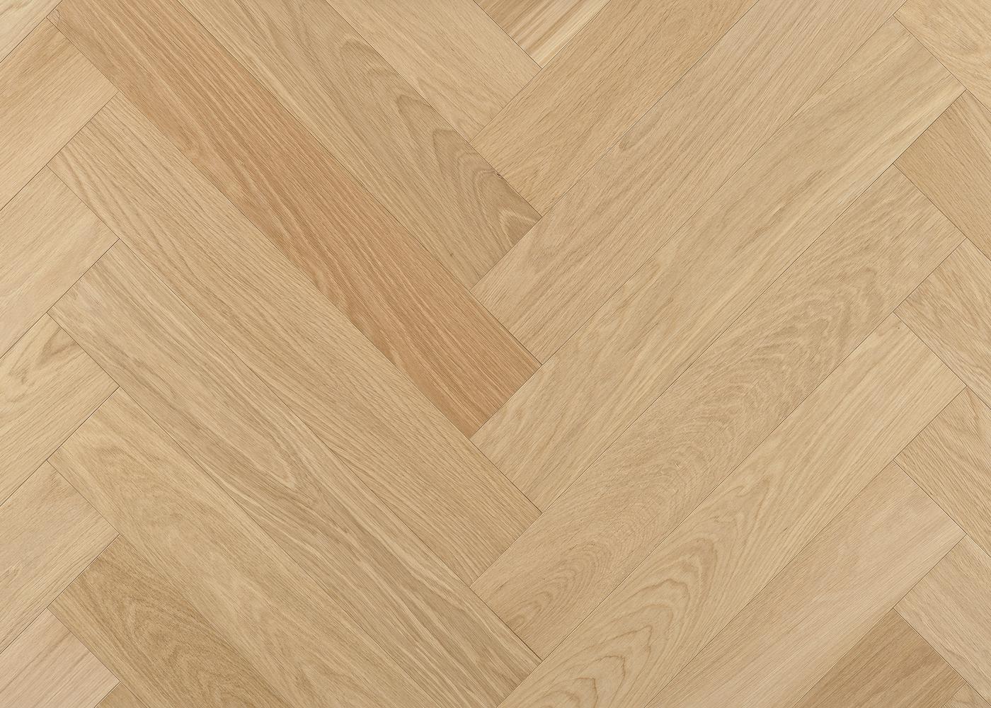 Parquet chêne contrecollé TALLINN Bâton Rompu brossé huile UV Select support HDF 10x92x610