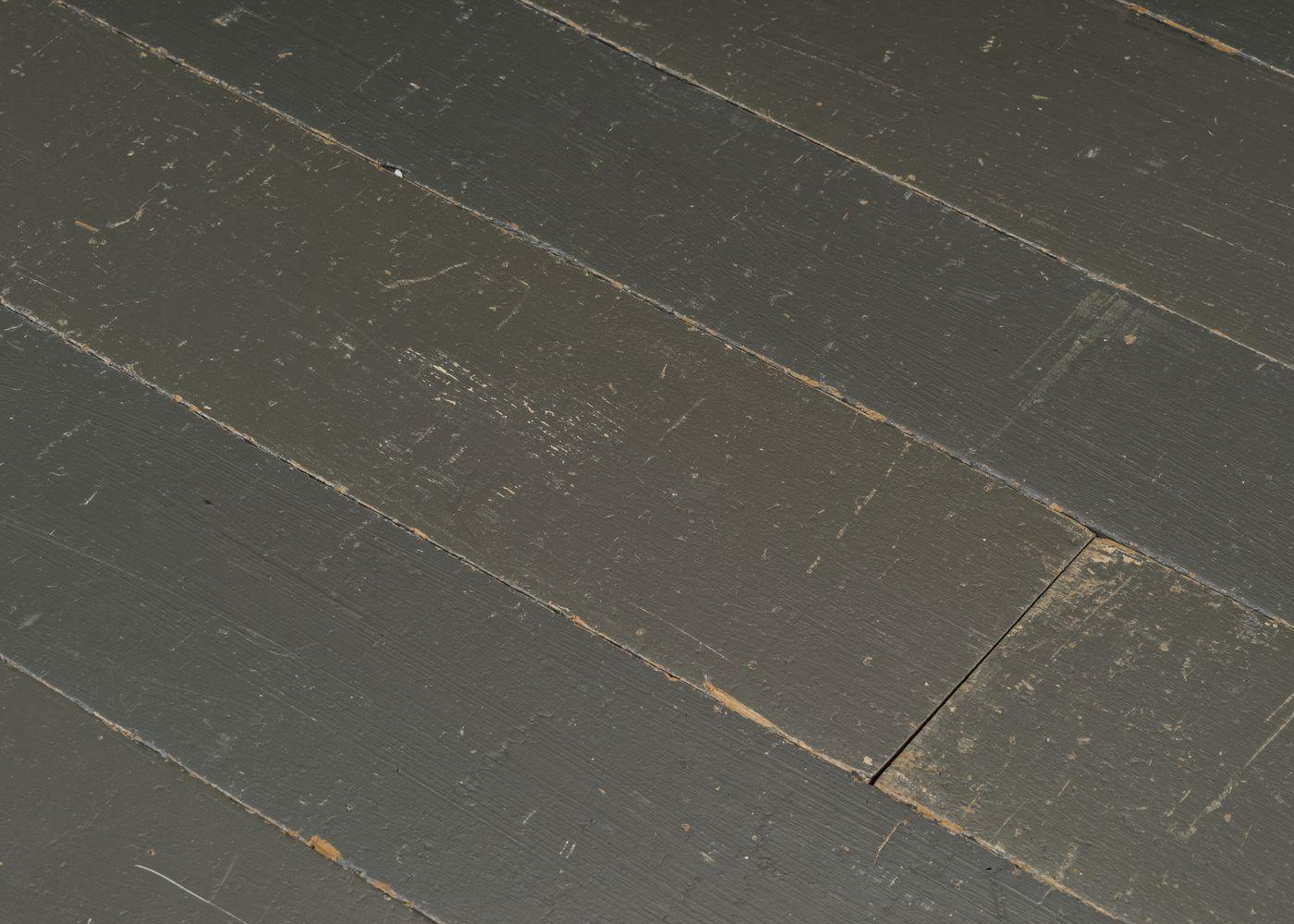 Parquet chêne massif PEINT GRIS vieilli huile cire 15x340x400-200015x120-200x1800-2700