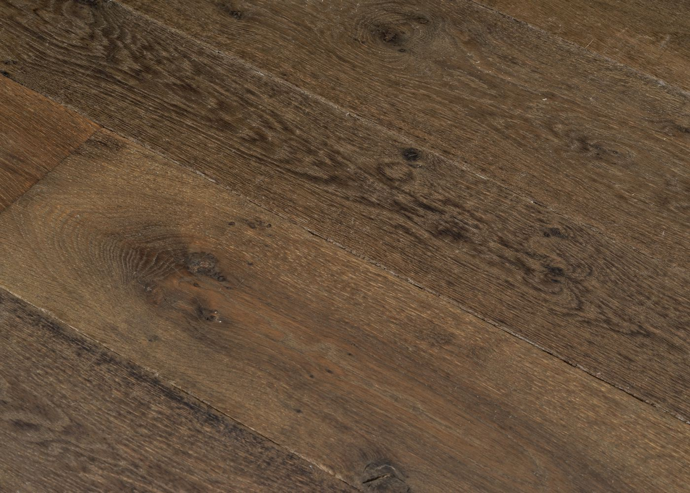 Parquet chêne massif DUBLIN vieilli huile cire 15x120-200x1800-2700