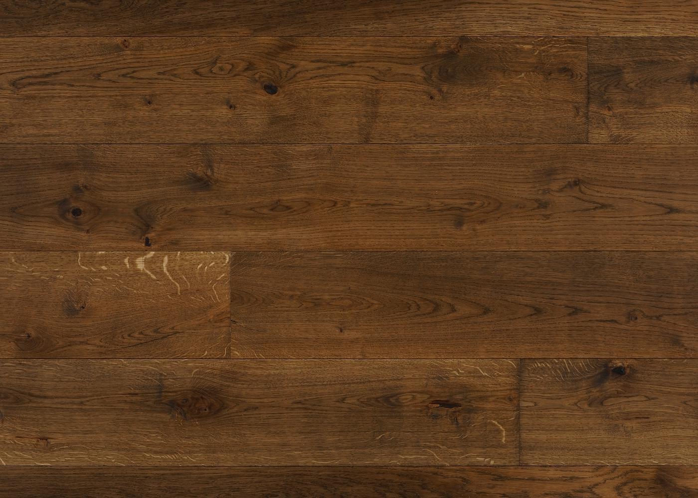 Parquet chêne massif OTTAWA Elégance vieilli très accentué huile cire 14x110x500-2000