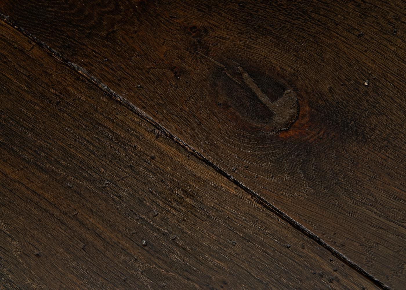Parquet chêne massif BALTHAZAR Elégance vieilli huile cire 14x110x500-2000