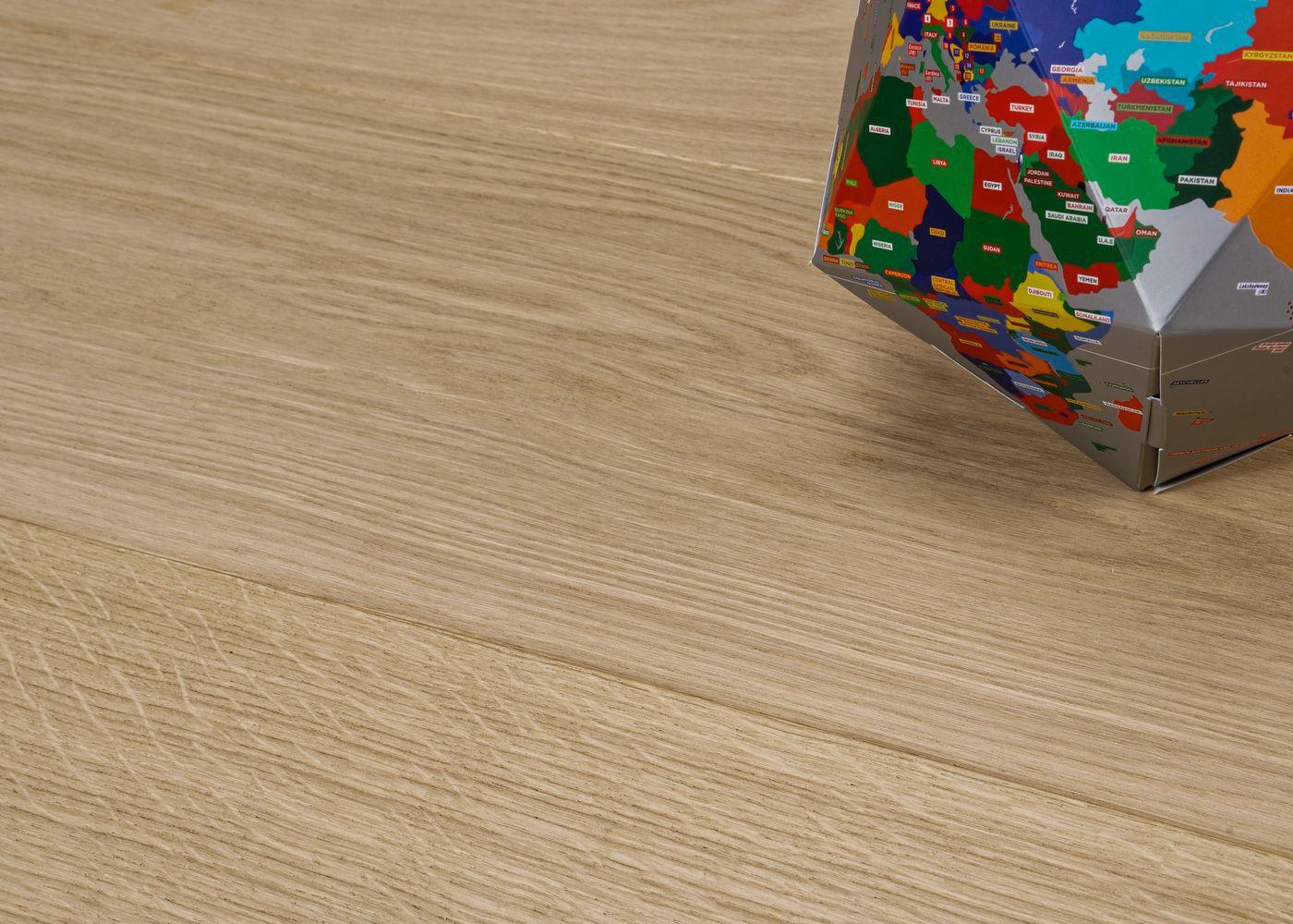 Parquet chêne contrecollé BRUT Select support HDF 10x92x1420