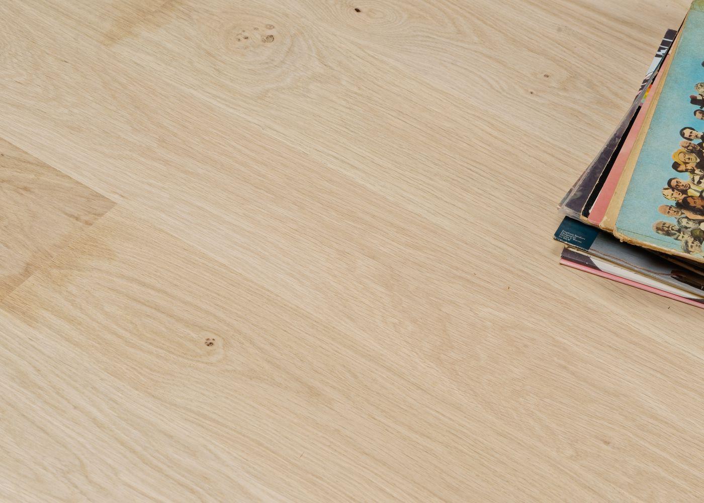 Parquet chêne contrecollé BRUT Elégance support HDF 10x150x1190