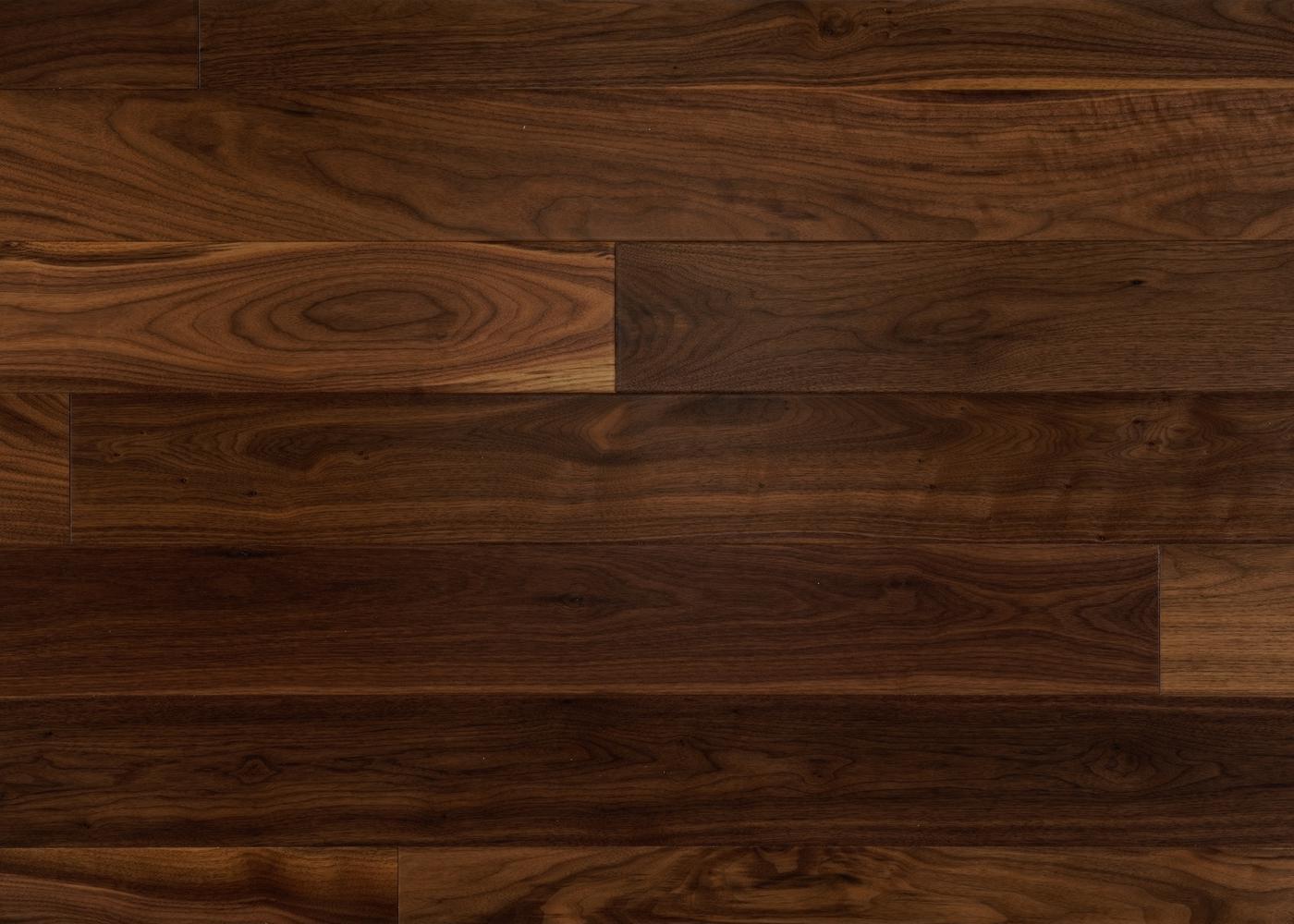 Parquet Noyer US contrecollé PRBis avec aubier vernis satiné 14x139x500-2000