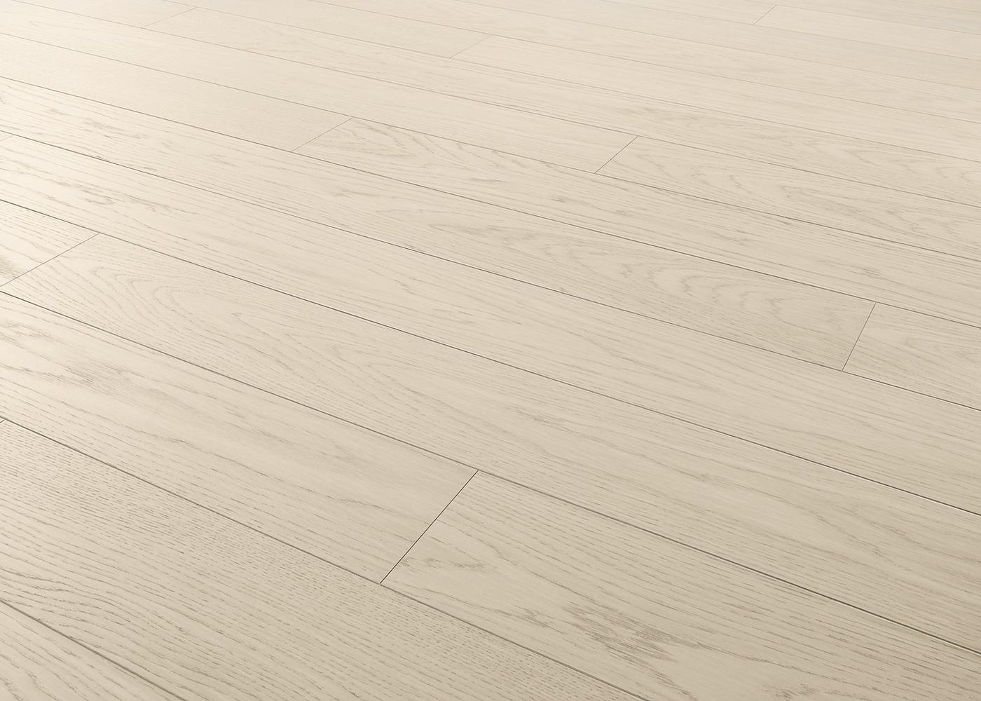 Sol plaqué bois Chêne Odessa brossé vernis extra-mat - Deluxe - Select 12x166x1810