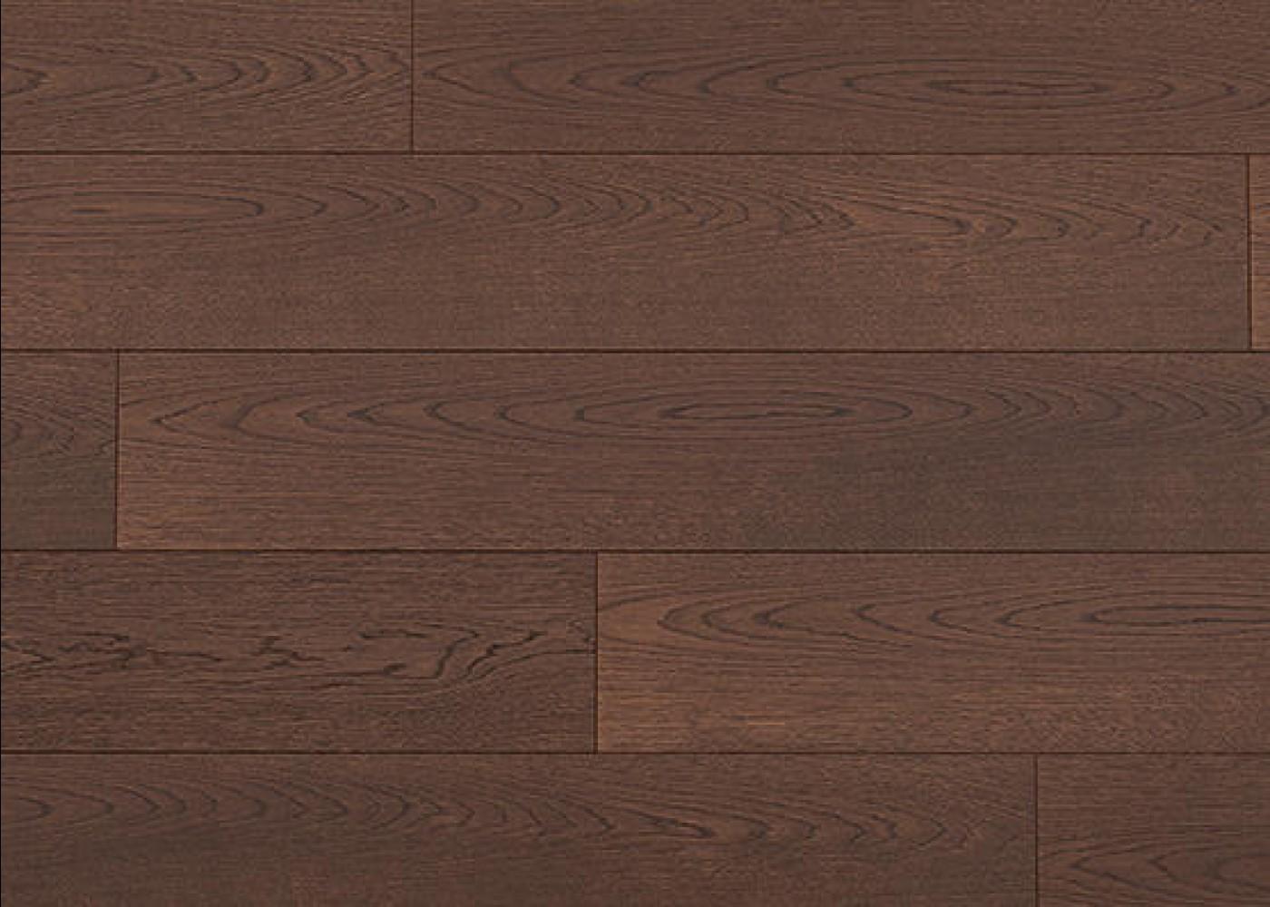 Sol plaqué bois Chêne QUIBERON brossé vernis extra-mat - Master - Select 10x166x1506
