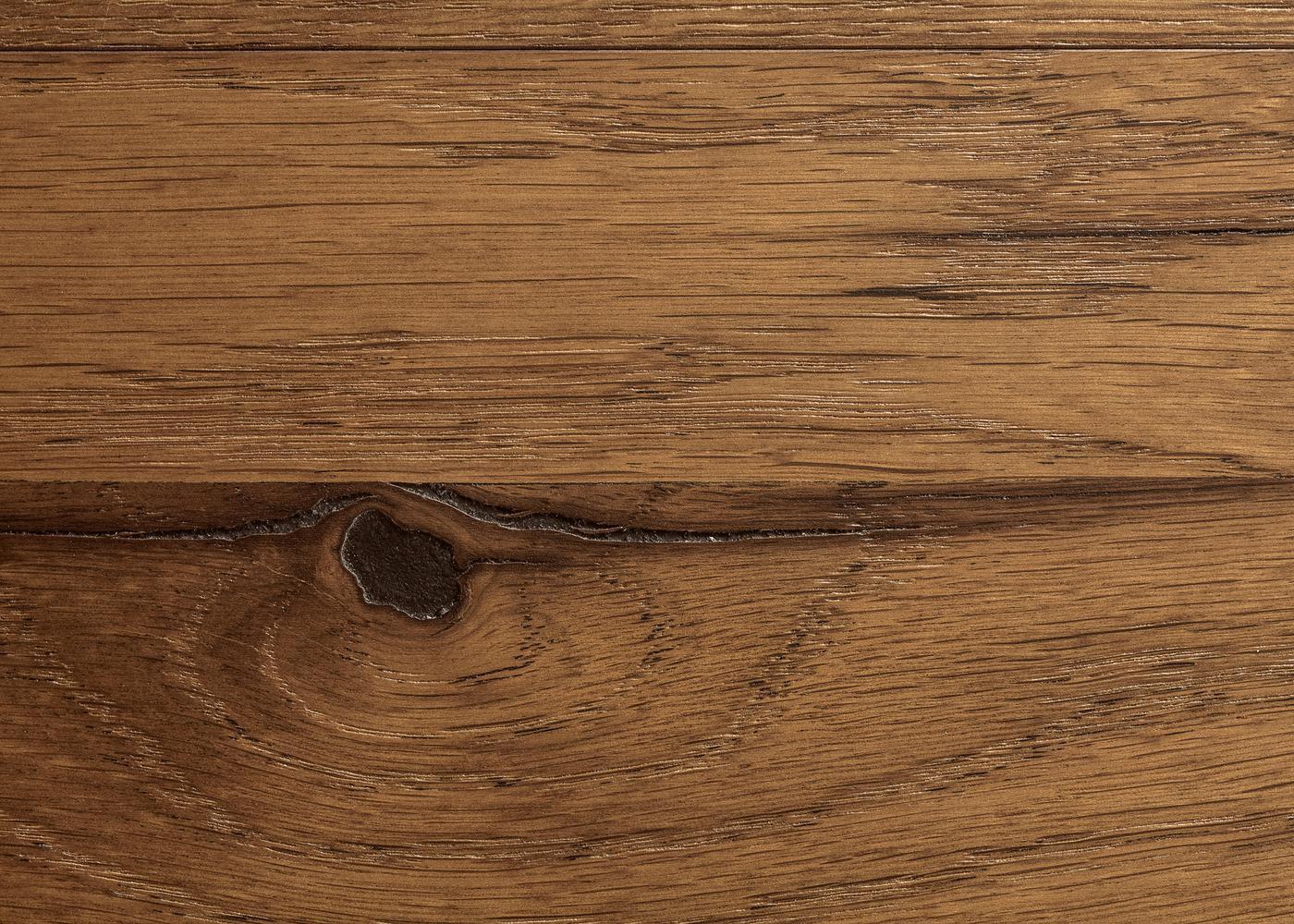 Sol plaqué bois Chêne Prato brossé vernis extra-mat - Deluxe - Elégance 12x166x1810