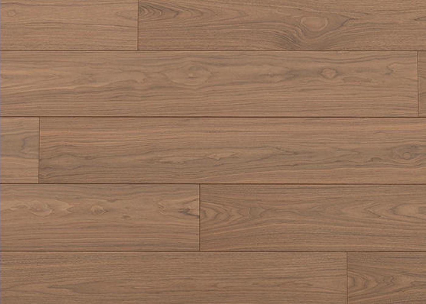 Sol plaqué bois Noyer Alaska brossé vernis extra-mat - Summit - Select 10x233x2050