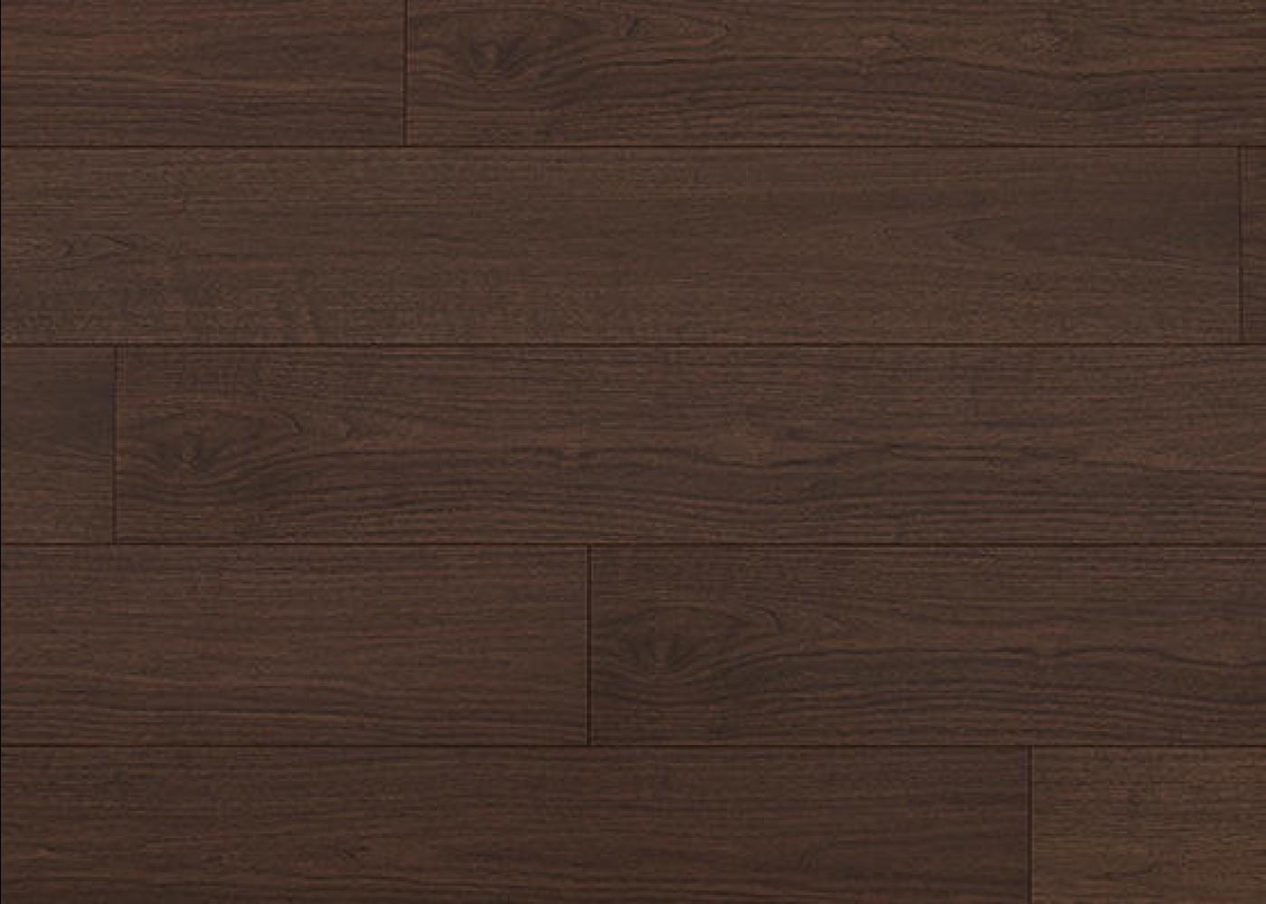 Sol plaqué bois Noyer Poudré brossé vernis extra-mat - Summit - Select 10x233x2050