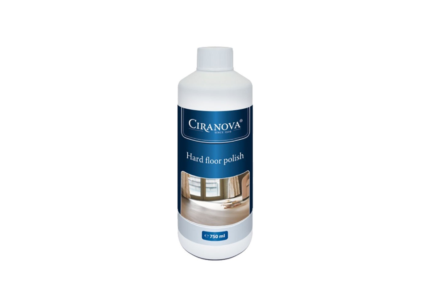 Hardfloor polish Ciranova pour parquets vernis satinés