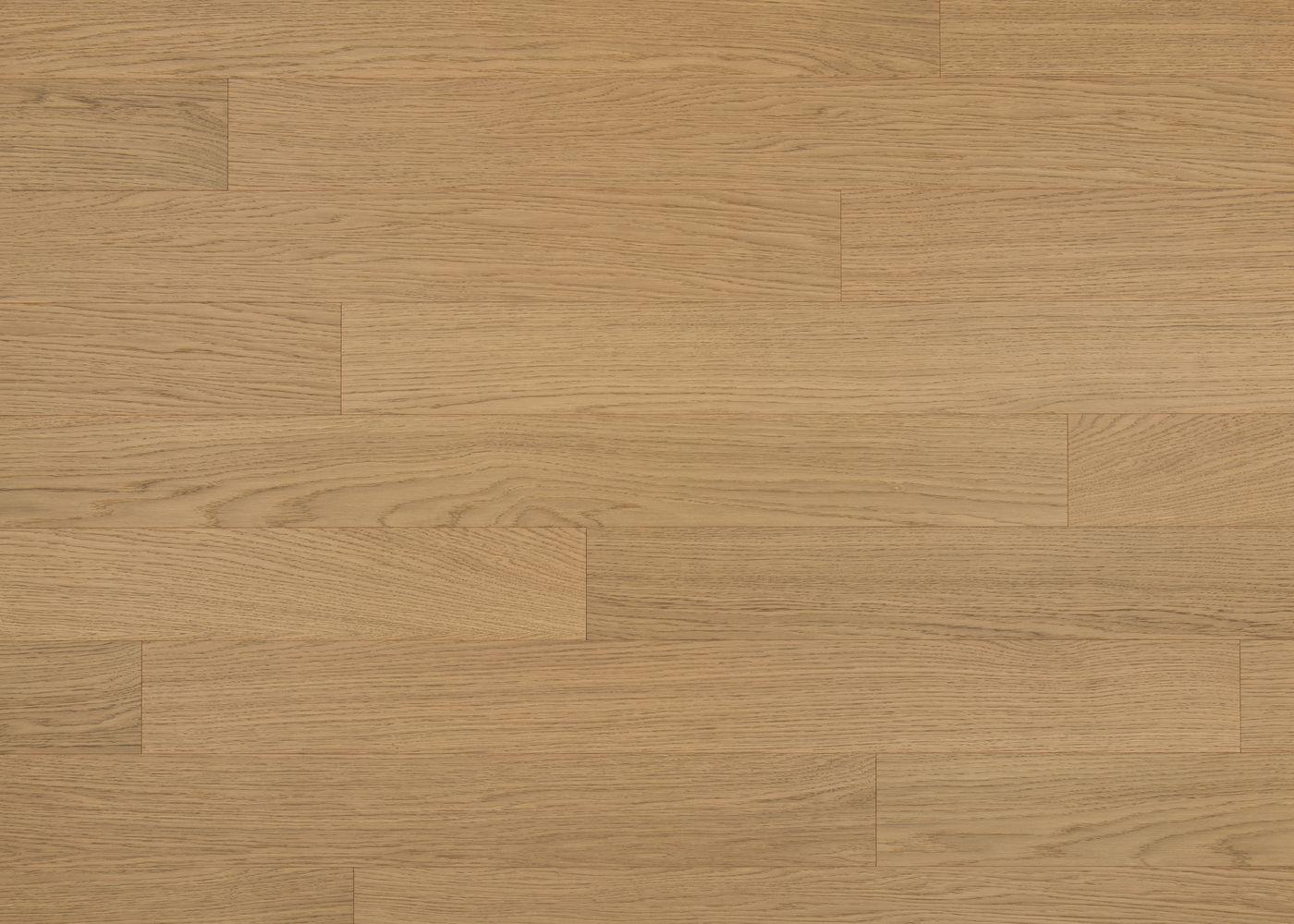Sol plaqué bois Chêne Vienne brossé vernis extra-mat - Deluxe - Select 12x166x1810