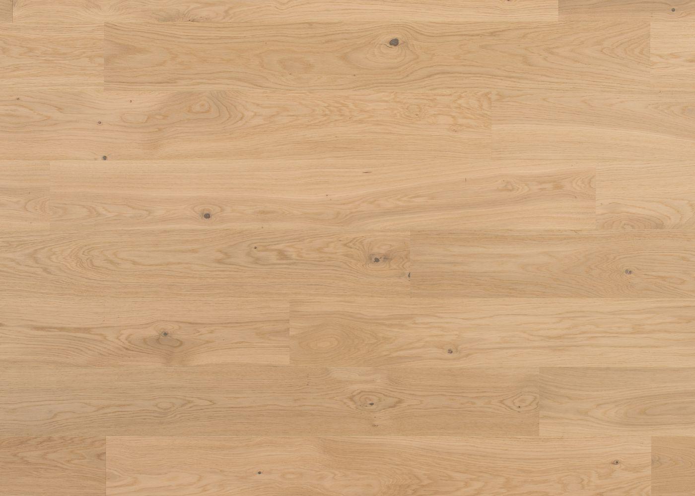 Sol plaqué bois Chêne Côme brossé vernis extra-mat - Deluxe - Elégance 12x166x1810