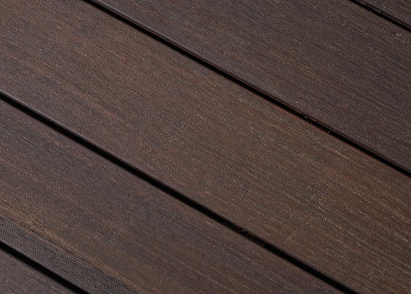 Terrase Bambou thermo-traité fixation invisible réversible 20x137x1850