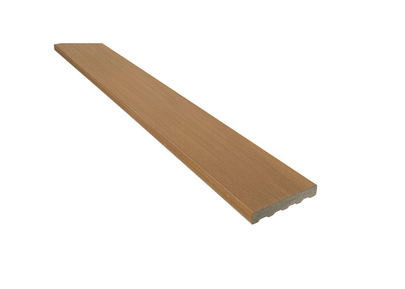 Planche de finition composite co-extrudé Brun Lima